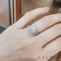 Sylvie Collection is designed by a woman for a woman. Sylvie creates diamond engagement rings with the highest standards of craftsmanship, detail & quality Popular Engagement Rings, Round Diamond Engagement Rings, Three Stone Engagement Rings, Engagement Wedding Ring Sets, Designer Engagement Rings, Vintage Engagement Rings, Wedding Ring Styles, Wedding Rings, Wedding Stuff