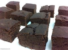 MOCHA PROTEIN BROWNIES! My recipe gets Brownie Points for being low carb, low calorie, high protein, virtually sugar free, high fibre, low fat, low sodium, dairy free, gluten free, diabetic friendly, MOIST, delicious, quick & easy!