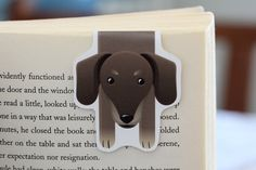 Dachshund Magnetic Bookmark by BeedooTO on Etsy