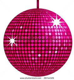 Disco Ball Digital Clip Art Disco Party Retro Clipart Dance ...