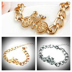 Da sa tomuto odolat? Nadherne kusky jedine na www.ejha.sk Bangles, Bracelets, Gold, Jewelry, Jewlery, Jewels, Bracelet, Jewerly, Jewelery