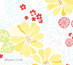 Boho Meadow | If you like this print, give it a vote! : )   |  http://www.connectingthreads.com/cfDesignContest/Entries.cfm?category=Floral_Botanical | Go to Page 5 on this link.