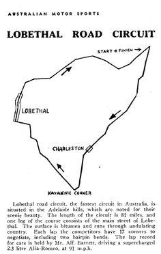 Lobethal Road Circuit, Adelaide Hills, South Australia...
