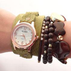 Relógio Verde