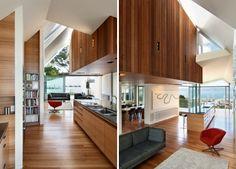 parsonson architects: seaview house, new zealand