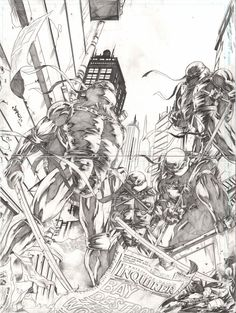 Teenage Mutant Ninja Turtles by Jimbo02Salgado
