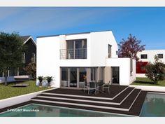 Moderne doppelhäuser pultdach  Beilstein II - #Einfamilienhaus von VIVA MASSIVHAUS GmbH | HausXXL ...