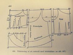 corset cover and bust holder - diagram by learningtofly_katafalk, via Flickr