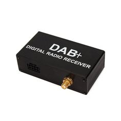 External DAB Add DAB + Digital Radio Box Receiver with Touch Control for my store klyde android car dvd For Europe only