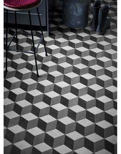 TheMosaicFactory Paris Rhombus x Porcelain Mosaic Tile Mosaic Wall, Mosaic Glass, Mosaic Tiles, Wall And Floor Tiles, Wall Tiles, Floor Design, Tile Design, Rhombus Tile, 3d Tiles