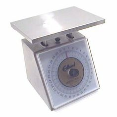 """SCALE SS 5LB x 1 OZ, EA, 14-0020 EDLUND COMPANY, INC SCALES AND TIMERS by EDLUND COMPANY, INC. $178.80. *  Stainless steel construction, 6"""" x 6 3/4"""" platform    *  NSF """""""