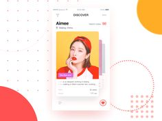 "via Muzli design inspiration. ""UI Interactions of the week is published by Muzli in Muzli - Design Inspiration. Interface Web, User Interface Design, Motion Design, Design Thinking, Card Ui, App Ui Design, Dashboard Design, Design Web, Flat Design"