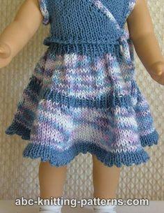 Free Doll Skirt Knitting Pattern