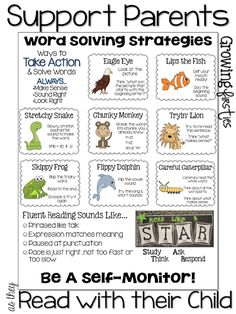 Support for At Home Reading & Back To School Parent Input Form Freebie Some GREAT freebies to help parents support kids with their reading!Some GREAT freebies to help parents support kids with their reading! Reading Workshop, Reading Skills, Reading Tips, Reading Groups, Reading Strategies Posters, Reading Buddies, Reading Lesson Plans, Guided Reading Lessons, Reading Help