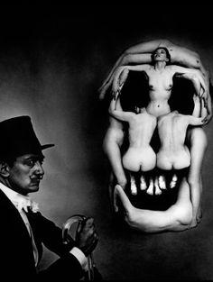 Salvador Dali à New York en 1951