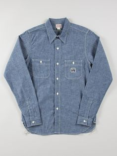 The Real McCoys 8HU Work Shirt