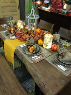Fast And Easy Thanksgiving Setting From Trees N Trends