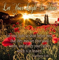 Matthew 5:16 Scripture Quotes, Inspirational Scriptures, Meaningful Quotes, Walk By Faith, Faith In God, Bible Verses About Nature, Visiting Teaching Handouts, Worship The Lord, Bless The Lord