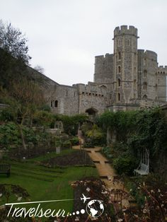 The Queen's Garden, Windsor Castle, England. http://travelseur.com/2014/07/royal-life-in-windsor-england/