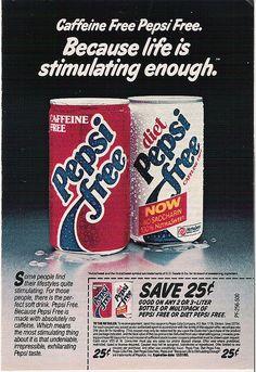 Pepsi Free!