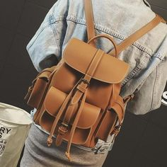 Belt and Buckle backpack