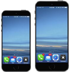Soon Two New iPhones with Larger Screens and Metal Shells