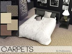 The Sims Resource: Carpets by Pralinesims • Sims 4 Downloads