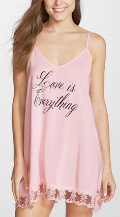 62205118c8 Wildfox  Love Is Everything  Chemise