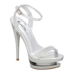 @Overstock.com - The Vegas is a super sexy stiletto metallic sandal featuring rhinestone ornamentation and a unique double platform.http://www.overstock.com/Clothing-Shoes/Womens-Lava-Shoes-Vegas-Silver-Metallic/7489456/product.html?CID=214117 $39.95