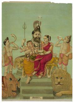 lithograph, 1885  Chitrapriyaprakash Press, Bombay