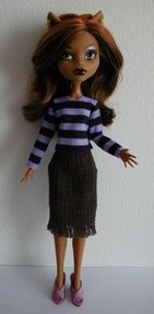 A few patterns for Monster High, free and for sale