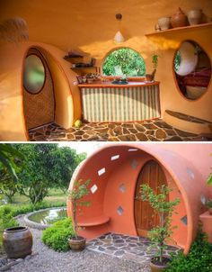 Thai Dome House 4. A softer, cuter version of the Arazonan earthship.