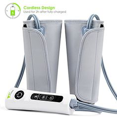 This leg compression pump can also be used to do arm massage or foot massager, to relieve the pain and swelling. Suitable for athletes, runners. 1 x Air Compression Leg Massager. Suitable for office workers and drivers. Leg Compression, Compression Sleeves, Spinal Muscular Atrophy, Weight Loss Wraps, Massage Center, Wand Massager, Foot Massage, Trainer, Massage Therapy