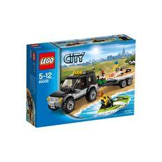 LEGO City SUV with Watercraft 60058