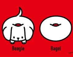 Beagle bagel on Behance Character Inspiration, Character Design, Typography Logo, Logos, Chinese Logo, Japanese Logo, Beagle, New Work, Logo Design