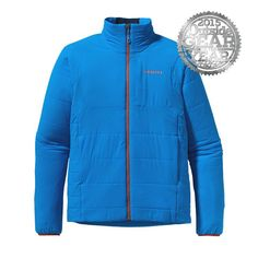 Patagonia Nano-Air. Water resistant and warm, it's the jacket you will never take off.