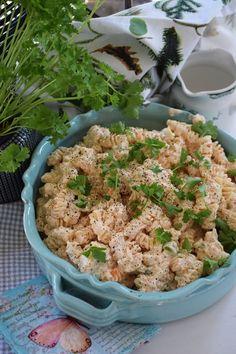 Food N, Food And Drink, Sweet Chili, Fika, Good Mood, Pasta Salad, Side Dishes, Bbq, Yummy Food