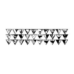 All Hipsters Here Triangle Background Filler Liked On Polyvore