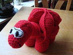 Crochet Dinosaur Puzzle Ball by Marjolein de Vries 6 Crochet Dinosaur Puzzle Pattern