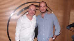 Juan Carlos Arciniegas con Jules.