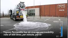 Tarmac Topmix Permeable - The ultimate permeable concrete system