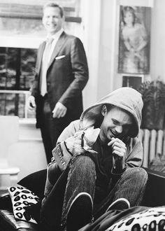 Harvey & Mike (Gabriel Macht, Patrick J Adams) Serie Suits, Suits Tv Series, Suits Tv Shows, Suits Usa, Mens Suits, Suits For Women, Harvey Specter Suits, Suits Harvey, Mike Ross Suits