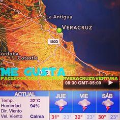 Disfruta de este #jueves caluroso en el #puerto #Jarocho #megusta http://www.facebook.com/TurismoEnVeracruzAventura #Mexico