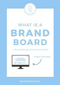 Read about what is a brand board, the anatomy of a brand board, why do you need one & how you can use these elements on your website and social media Collateral Design, Brand Identity Design, Branding Design, Logo Design, Graphic Design, Blog Website Design, Business Checks, Business Tips, Create Color Palette