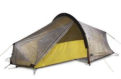 TERRA NOVA LASER ULTRA 1 TENT. This ultra lightweight tent holds the Guinness World Record for the lightest double wall shelter in the world! From Beyond The Wild.£780 #Camping #Lightweight