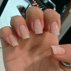 29 the best neutral nail art designs 2019 10 Nail ideas French Manicure Acrylic Nails, Natural Acrylic Nails, Natural Nails, Nail Polish, Nail Art Designs, Acrylic Nail Designs, Nails Design, Pretty Nails, Fun Nails