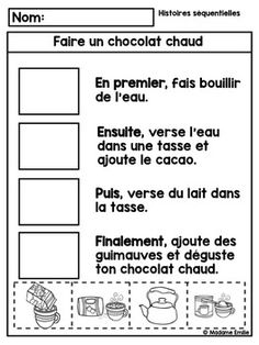 The Online Way of Learning French French Lessons, Spanish Lessons, Teaching French Immersion, French Practice, Procedural Writing, French Teaching Resources, French Worksheets, French For Beginners, French Education