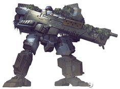 Kyoujun - Front Mission Wanzer model