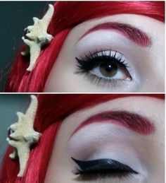 This ladies and gents is how you execute great liner & match your brows! Connie Marble approved!