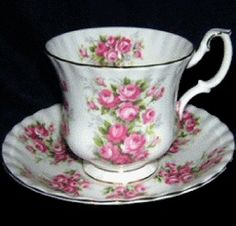 I ❤ roses . . . Royal Albert China Series~ Springtime Series ~Rose